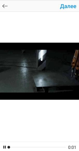 Выбор видео для размещения в приложении IGTV