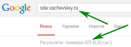 как проверить индексацию сайта в гугл
