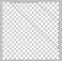 контур углового баннера