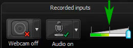 настройка аудио
