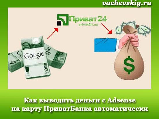 вывод денег с adsense