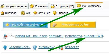 вывод денег с вебмани в украине